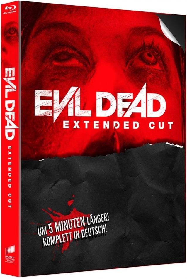 Evil Dead (2013) (Cover B, Extended Edition, Limited Edition, Mediabook, Uncut, 2 Blu-rays)