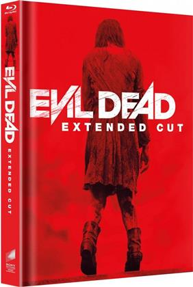 Evil Dead (2013) (Cover A, Extended Edition, Limited Edition, Mediabook, Uncut, 2 Blu-rays)