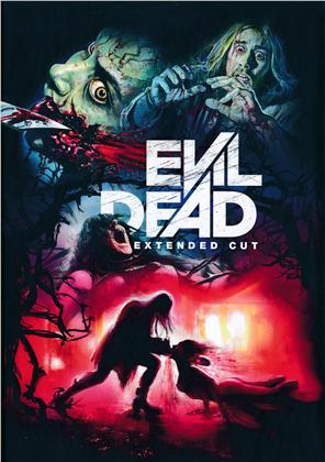 Evil Dead (2013) (Cover D, Extended Edition, Limited Edition, Mediabook, Uncut, 2 Blu-rays)