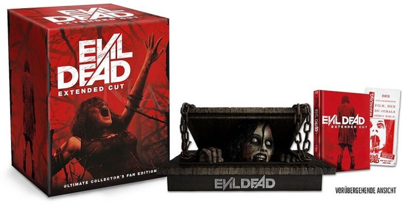 Evil Dead (2013) (Ultimate Collector's Fan Edition, + Büste, Extended Edition, Limited Edition, Mediabook, Uncut, 2 Blu-rays)