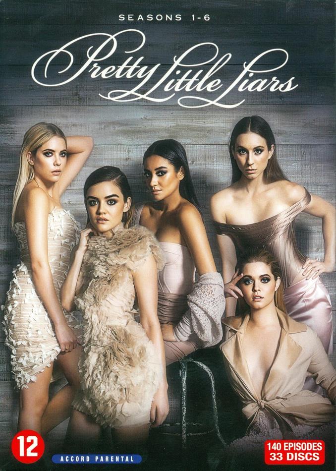 Pretty Little Liars - Saisons 1-6 (33 DVDs)