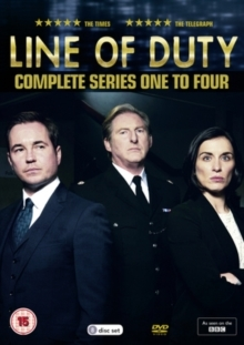 Line of Duty - Series 1-4 (8 DVDs)
