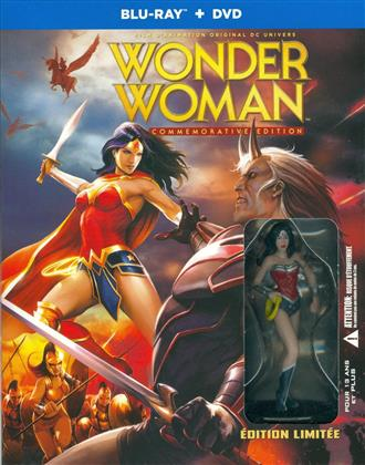 Wonder Woman (2009) (Édition Commemorative, + Figurine, Limited Edition, Blu-ray + DVD)
