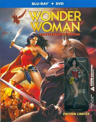 Wonder Woman (2009) (Édition Commemorative, + Figurine, Edizione Limitata, Blu-ray + DVD)