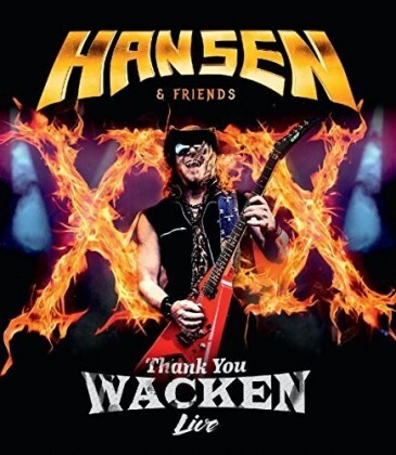 Kai Hansen - Thank you Wacken live (Limited Edition, Blu-ray + CD)