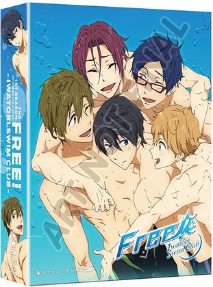 Free! - Iwatobi Swim Club - Season 1 (Limited Edition, 2 Blu-rays + 2 DVDs)