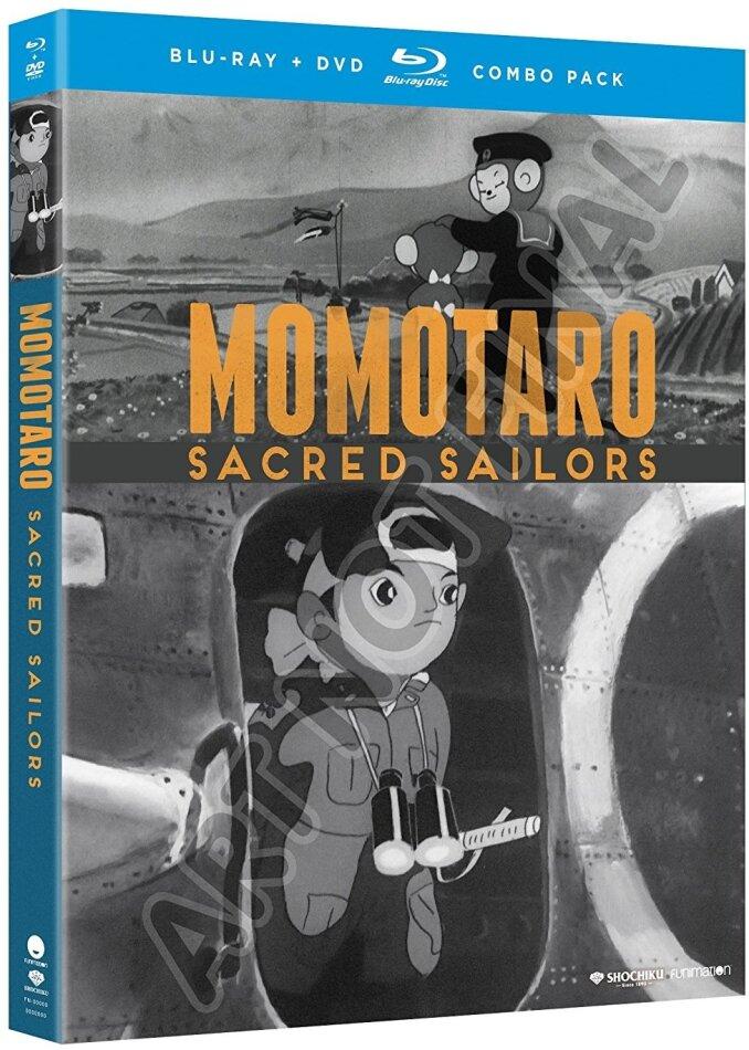 Momotaro - Sacred Sailors (1947) (Blu-ray + DVD)