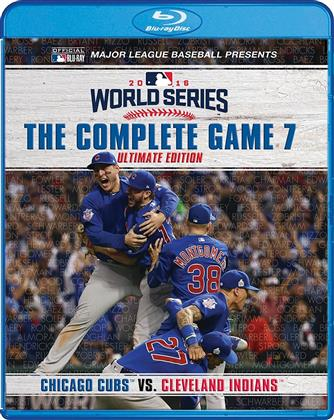 MLB: 2016 World Series - The Complete Game 7: Chicago Cubs vs. Cleveland Indians (Ultimate Edition, 2 Blu-rays)