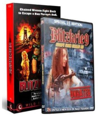 Blitzkrieg - DVD & VHS Combo (DVD + 4K Ultra HD)