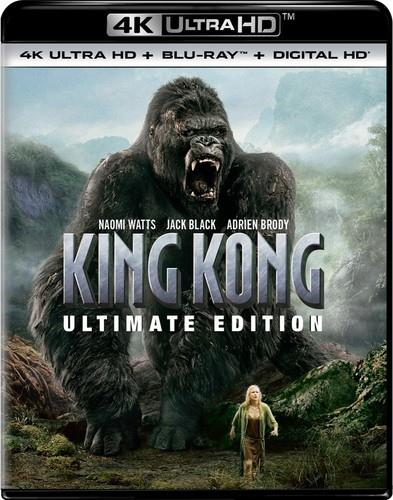 King Kong (2005) (Ultimate Edition, 4K Ultra HD + Blu-ray)