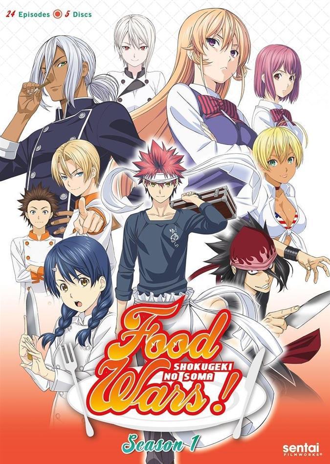 Food Wars! - Season 1 (5 DVDs)