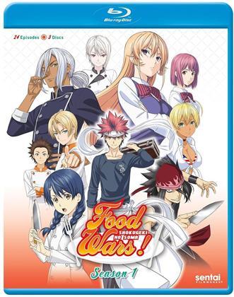 Food Wars! - Season 1 (3 Blu-rays)