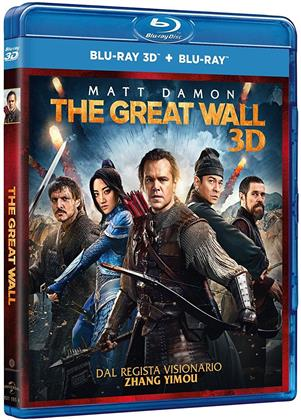 The Great Wall (2016) (Blu-ray 3D + Blu-ray)
