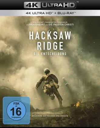 Hacksaw Ridge - Die Entscheidung (2016) (4K Ultra HD + Blu-ray)