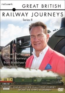 Great British Railway Journeys - Series 8 (BBC, 3 DVDs)