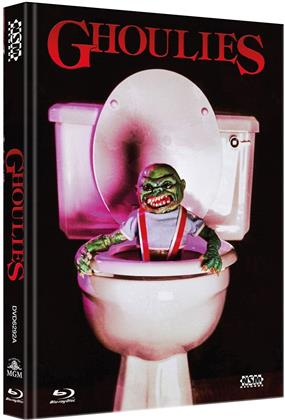Ghoulies (1984) (Cover A, Limited Edition, Mediabook, Uncut, Blu-ray + DVD)
