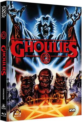 Ghoulies (1984) (Cover B, Limited Edition, Mediabook, Uncut, Blu-ray + DVD)
