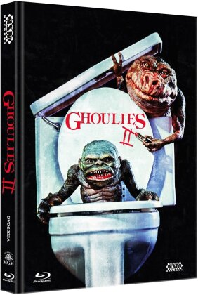 Ghoulies II (1988) (Cover A, Limited Edition, Mediabook, Uncut, Blu-ray + DVD)