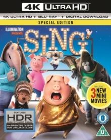 Sing (2016) (4K Ultra HD + Blu-ray)