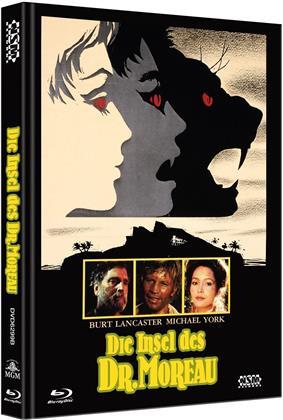 Die Insel des Dr. Moreau (1977) (Cover B, Limited Edition, Mediabook, Uncut, Blu-ray + DVD)