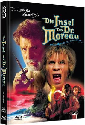 Die Insel des Dr. Moreau (1977) (Cover C, Limited Edition, Mediabook, Uncut, Blu-ray + DVD)