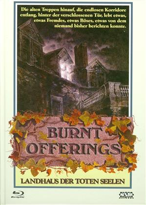 Burnt Offerings - Landhaus der toten Seelen (1976) (Cover B, Limited Edition, Mediabook, Uncut, Blu-ray + DVD)