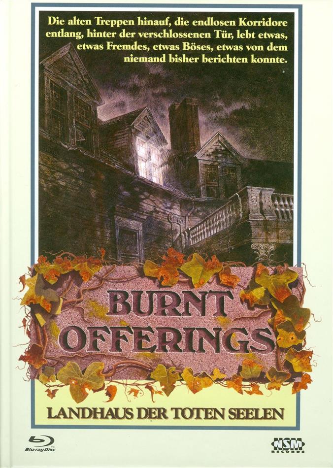 Burnt Offerings - Landhaus der toten Seelen (1976) (Cover B, Limited Edition, Mediabook, Uncut, Blu-ray + DVD)