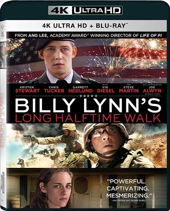 Billy Lynn - Un giorno da eroe (2016) (4K Ultra HD + Blu-ray)