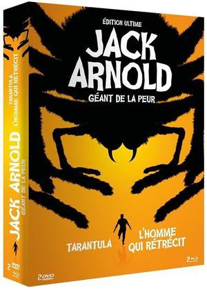 Jack Arnold - Géant de la peur - Tarantula / L'homme qui rétrécit (b/w, Ultimate Edition, 2 Blu-rays + 2 DVDs)