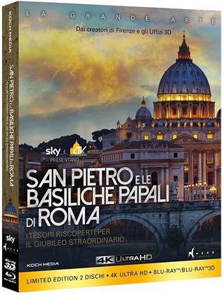 San Pietro e le Basiliche Papali di Roma (Limited Edition, 4K Ultra HD + Blu-ray 3D (+2D))
