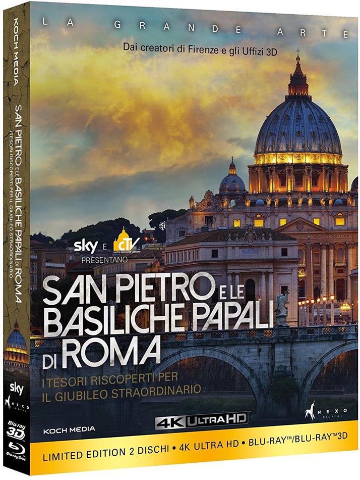 San Pietro e le Basiliche Papali di Roma (Edizione Limitata, 4K Ultra HD + Blu-ray 3D (+2D))