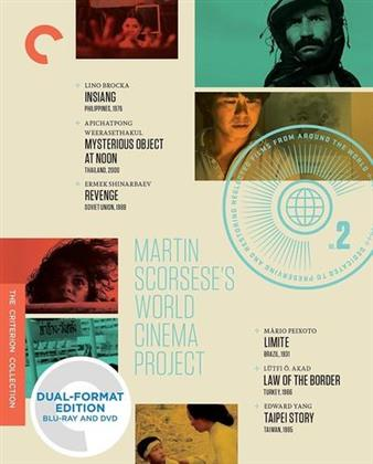 Martin Scorsese's World Cinema Project No. 2 (Criterion Collection, 9 Blu-rays)
