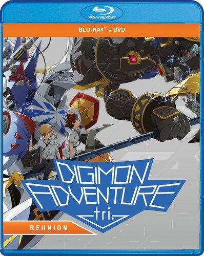 Digimon Adventure Tri - Reunion (2015) (Blu-ray + DVD)