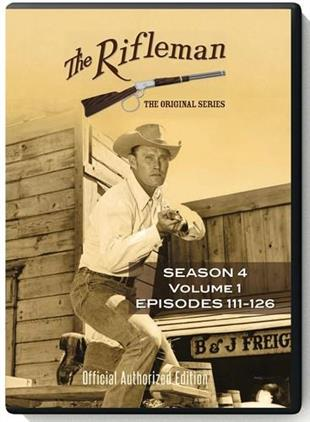 The Rifleman - Season 4.1 (3 DVDs)