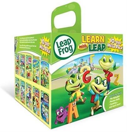 Leapfrog - Lean with Leap (10-DVD Mega Pack)