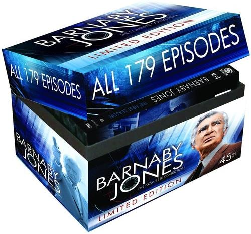 Barnaby Jones - The Complete Collection (Limited Edition, 45 DVDs)