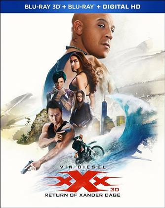 xXx: Return of Xander Cage (2017) (Blu-ray 3D + Blu-ray)