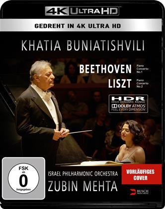 Israel Philharmonic Orchestra, Zubin Mehta & Khatia Buniatishvili - Liszt / Beethoven