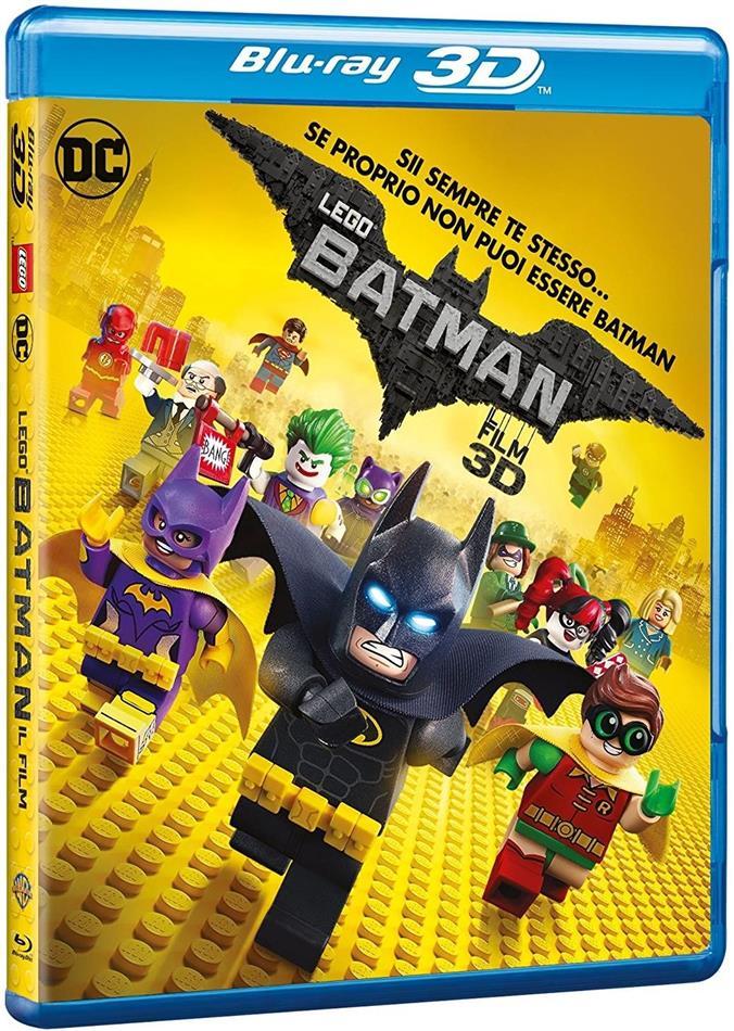 LEGO Batman - Il Film (2017) (Blu-ray 3D + Blu-ray)
