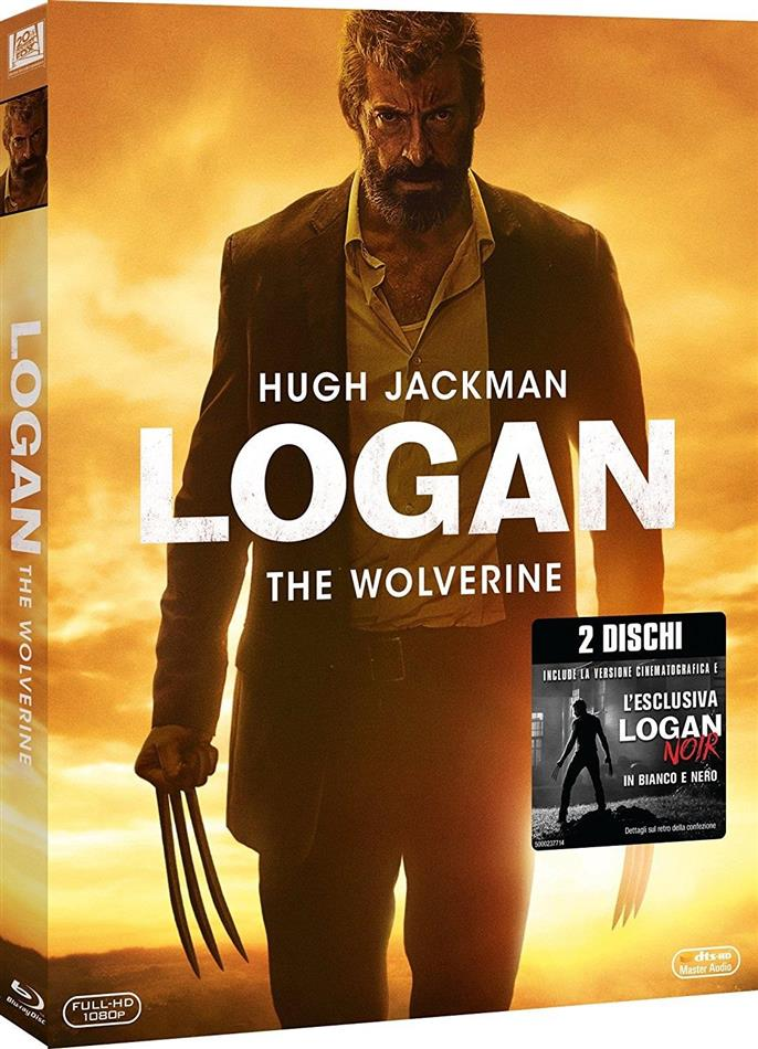 Logan - The Wolverine (2017) (Noir Edition, Kinoversion, 2 Blu-rays)