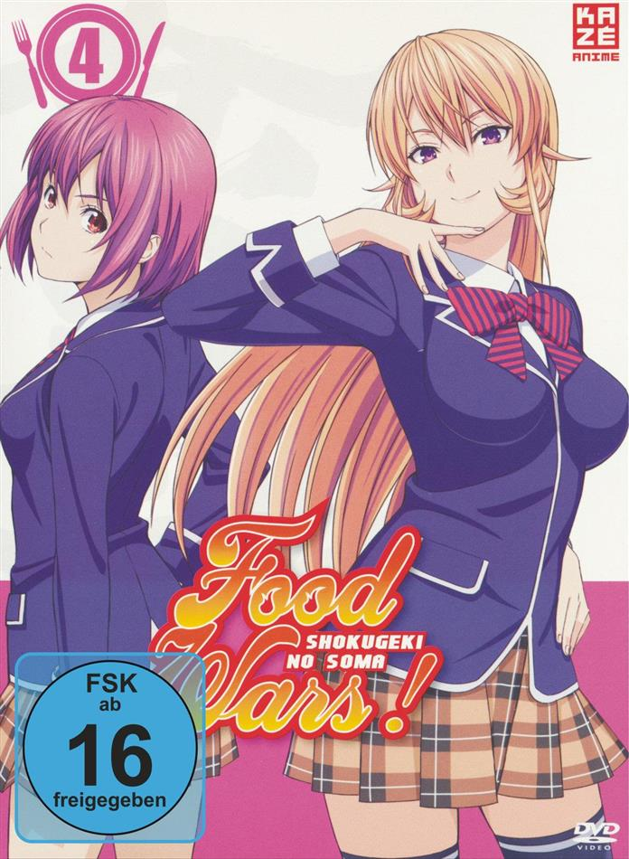 Food Wars! - Shokugeki no Soma - Staffel 1 - Vol. 4 (Digibook)