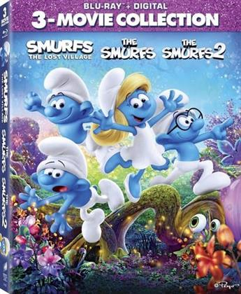 The Smurfs / The Smurfs 2 / Smurfs: The Lost Village (3 Movie Collection, 3 Blu-rays)