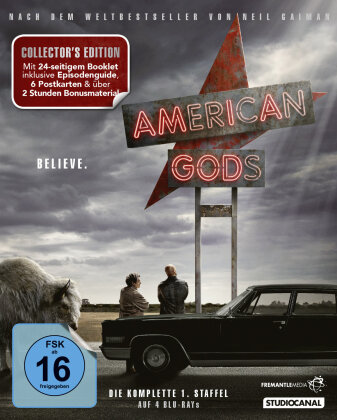 American Gods - Staffel 1 (Collector's Edition, 4 Blu-ray)