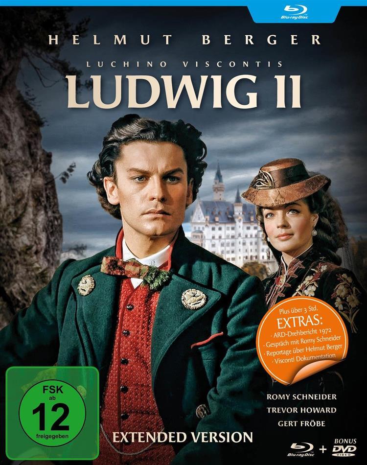 Ludwig II. (1972) (Filmjuwelen, Director's Cut, 2 Blu-ray)
