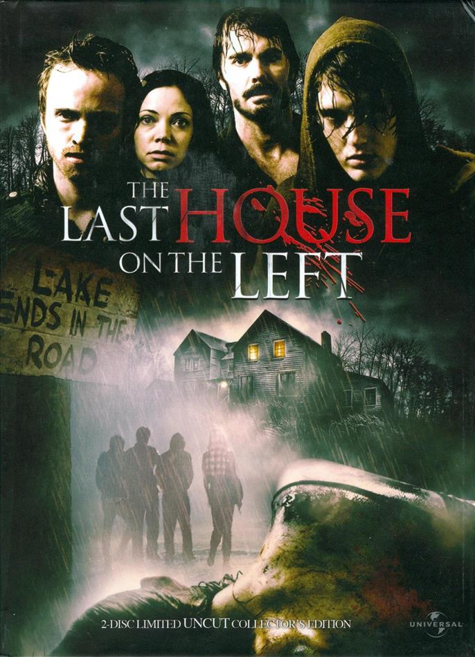 The Last House on the Left (2009) (Cover A, Collector's Edition, Extended Edition, Edizione Limitata, Mediabook, Uncut, Blu-ray + DVD)