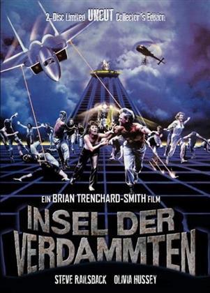 Insel der Verdammten (1982) (Cover B, Collector's Edition, Limited Edition, Mediabook, Uncut, Blu-ray + DVD)