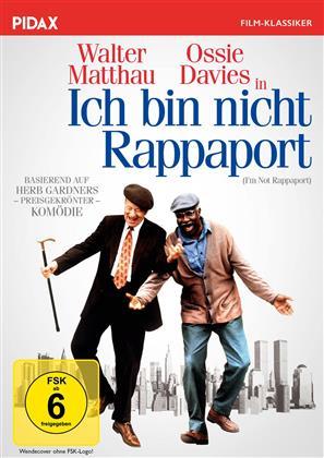 Ich bin nicht Rappaport (1996) (Pidax Film-Klassiker)