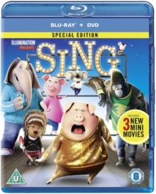 Sing (2016) (Special Edition, Blu-ray + DVD)