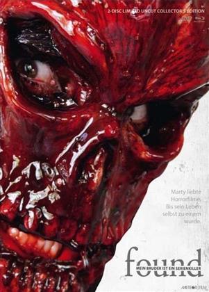 Found - Mein Bruder ist ein Serienkiller (2012) (Cover B, Collector's Edition, Limited Edition, Mediabook, Uncut, Blu-ray + DVD)