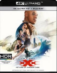 xXx - Triple X 3 - The Return Of Xander Cage (2017) (4K Ultra HD + Blu-ray)